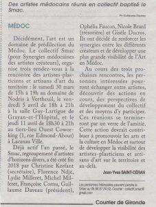 Devenez Smackeur dans Courrier de Gironde - mars 2019